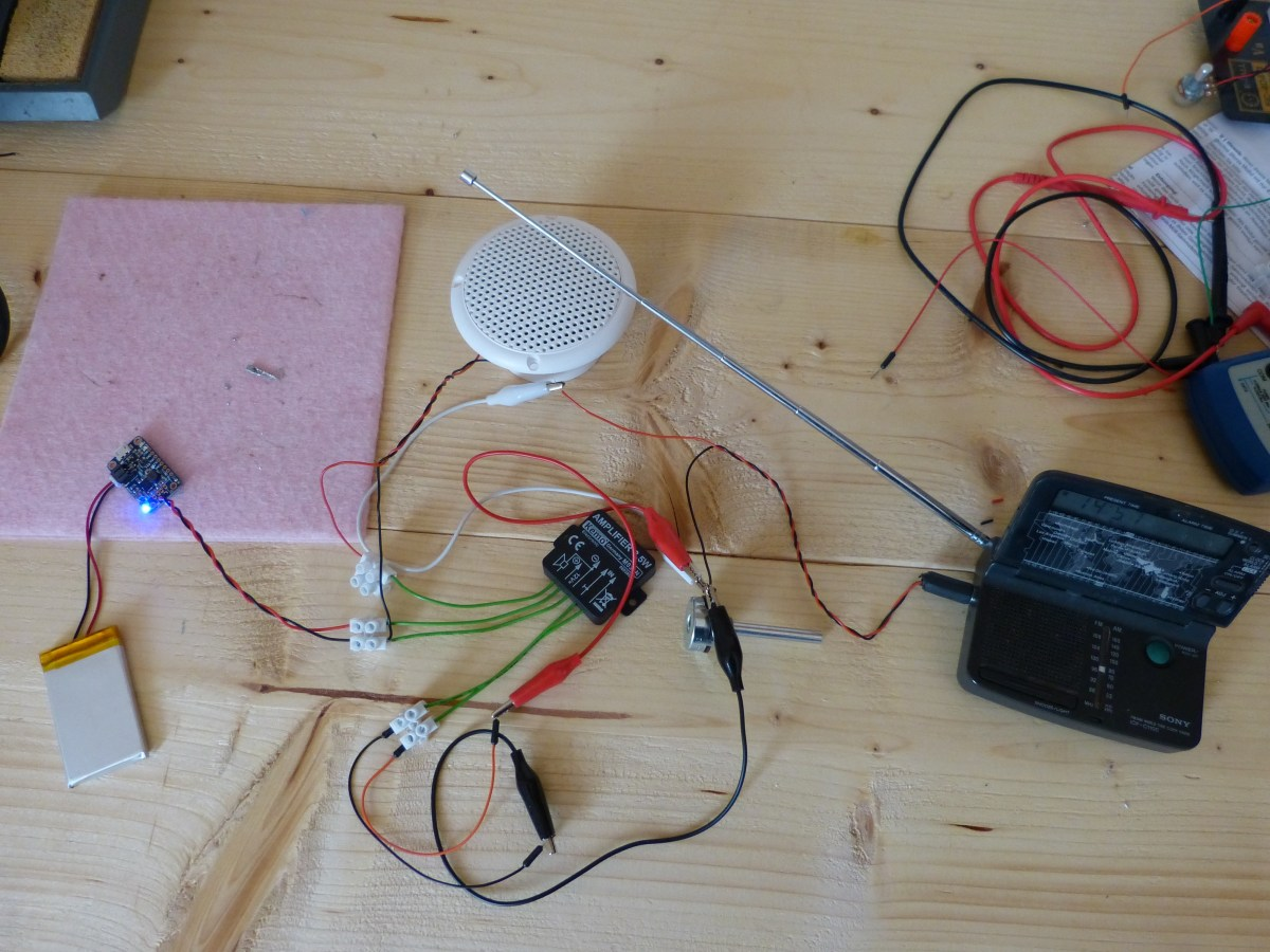 Making a tiny audio system for our cooler (part 1)