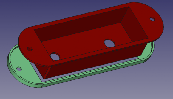 New console design with the bottom layer made out of Filaflex and the top layer made out of PLA.