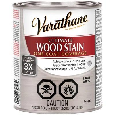 varathane teinture a l alkyde pour bois ultime lin blanc 946 ml