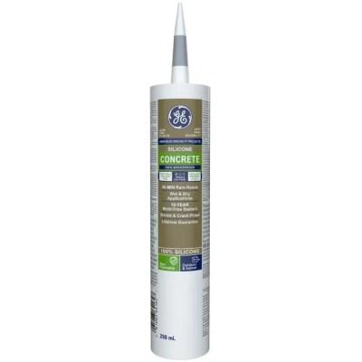ge concrete masonry silicone ii sealant light grey 299 ml