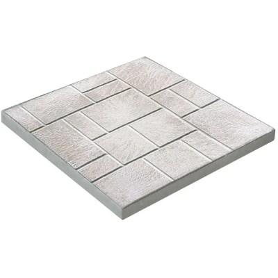 brooklin concrete 18 x 18 natural brick patio stone