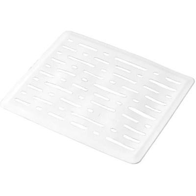rubbermaid sink mat white 10 x 12