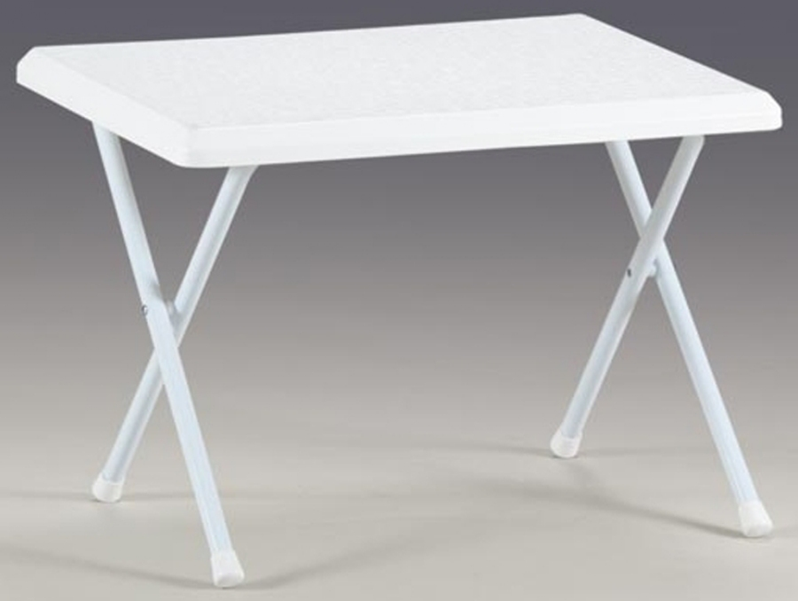 Bica White Small Folding Table