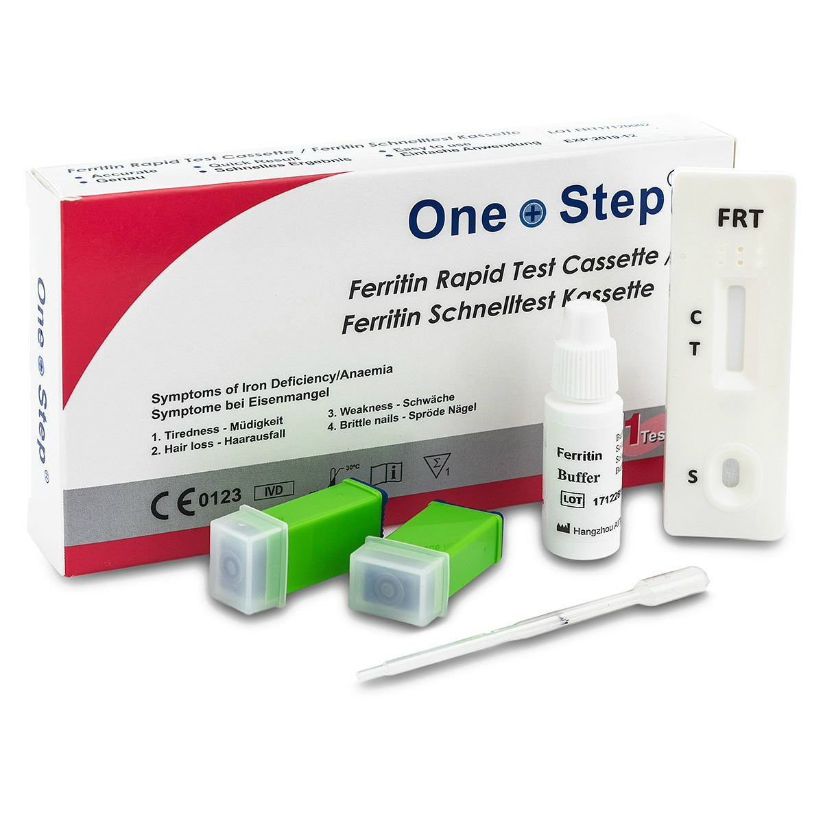 Anemia Test Iron Deficiency Anaemia Ferritin in Blood Test ...