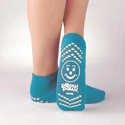Pillow Paws Adult Socks L – Teal