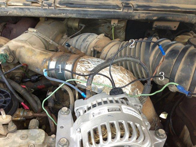 2000 f250 73 alternator wiring help  ford truck