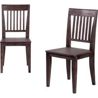 elegant dark wood dining room chairs plushemisphere ...