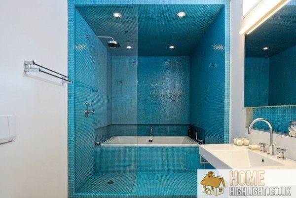 Modern Blue Bathroom Designs Amp Ideas Home Highlight