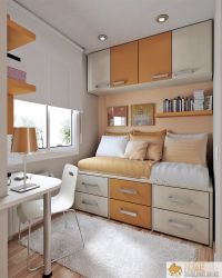 Practical Design Ideas for Small Bedrooms  Home Highlight