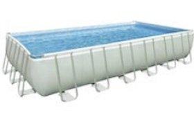2.2 intex above ground pool Ultra Frame