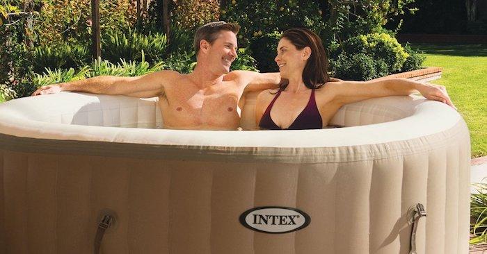 Intex hot tub PureSpa Bubble Massage review