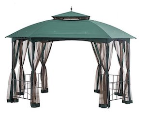 6 Sunjoy Gazebo review CAPRI GREEN crop