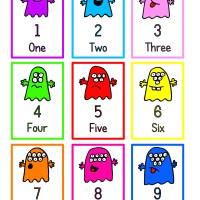 Teaching Thursday: Free Monster Maths Printables