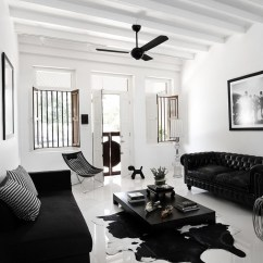 Vintage Leather Sofa Company Western Style Pillows Black And White Interior Ideas For Shophouse | ...