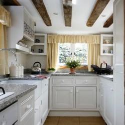 kitchens kitchen designs open homeideasmag galley country tiny remodel shelving bedroom garden cabinets cocinas decor compact idea cocina con amueblar