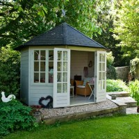 Summerhouse Style Garden  Ideas