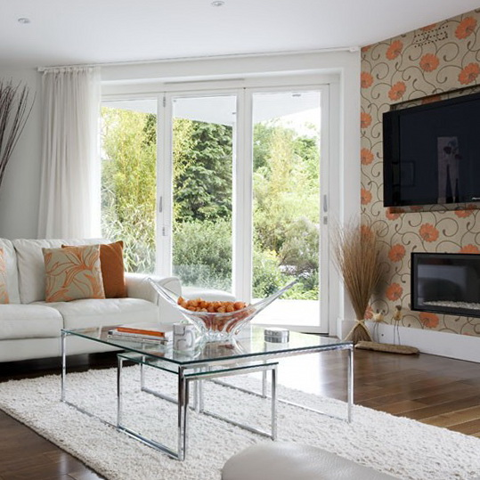 Wallpaper Ideas For Living Room  Ideas For Home Garden