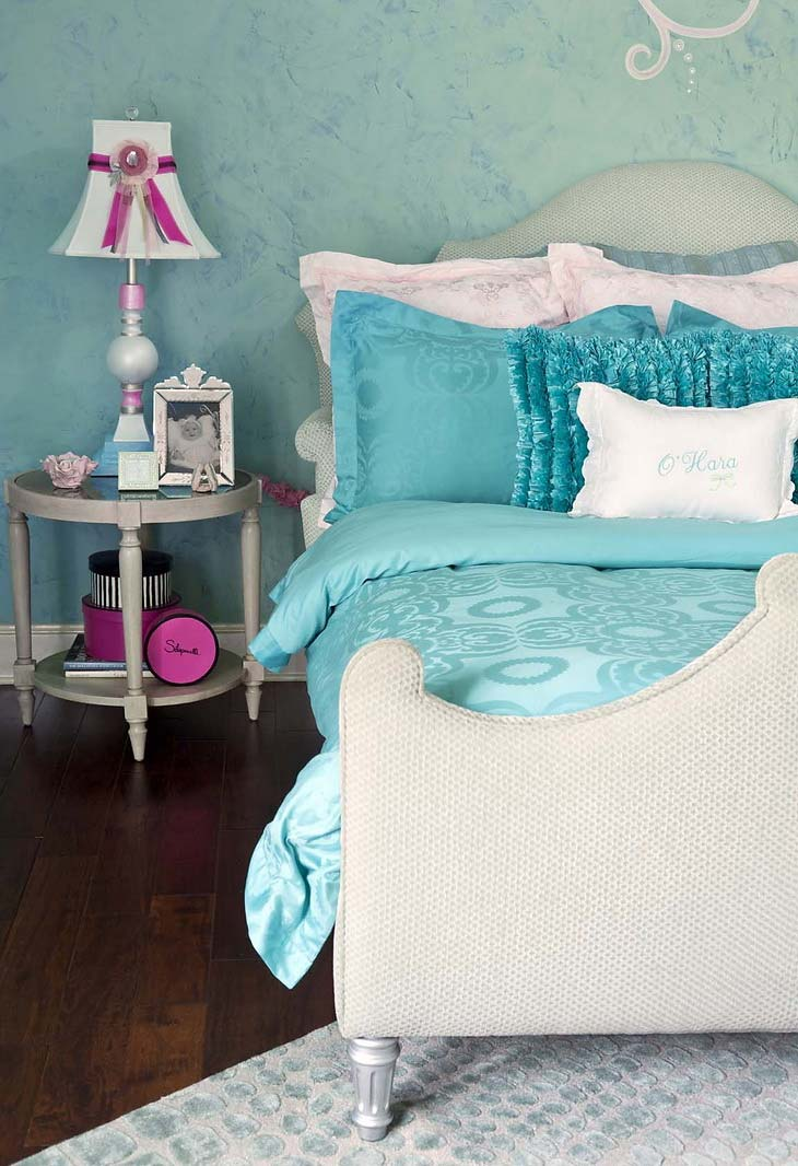 Turquoise childrens room for girls  Ideas for Home