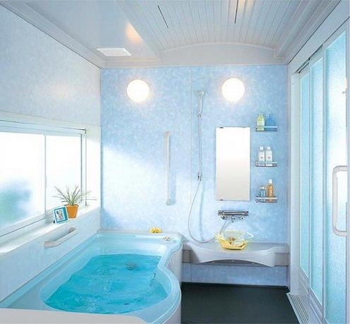 Nice interior for small bathrooms  Ideas for Home Garden