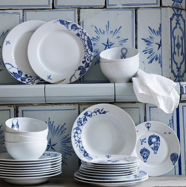 New beautiful collection of dinnerware from Ikea