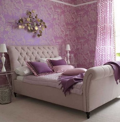 Lavender Color In The Interior Ideas For Home Garden Bedroom Lavender Color  Bedroom Bedroom Style.
