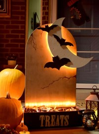 DIH Workshop: Tombstone Halloween Candy Holder  Home ...