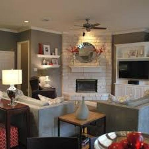 Living Room Furniture Arrangement With Corner Fireplace How To Arrange Furniture Around A Corner Fireplace: 5 Tips