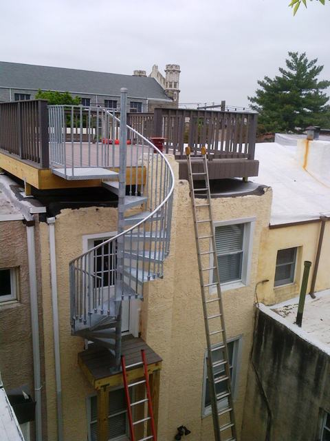 spiral stairs  Cumming Construction