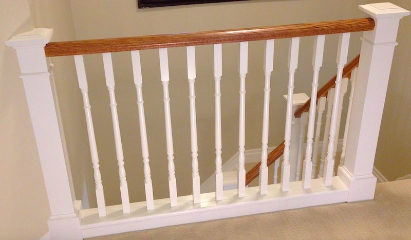 How To Install Stair Spindles Balusters – Home Improvement Woodworking | Installing Newel Post And Spindles | Stair Parts | Staircase | Stair Banister | Iron Stair | Wrought Iron Spindles