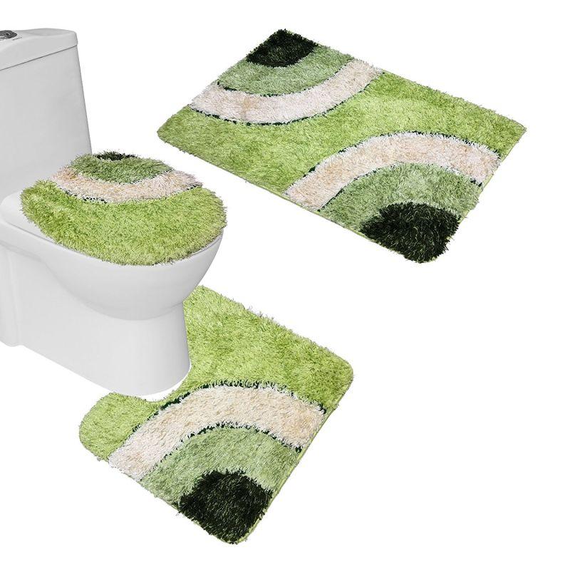 Green Bathroom Rug Sets  Rugs Ideas