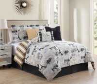 Eiffel Tower Bedding Set Review - Nice for Girls