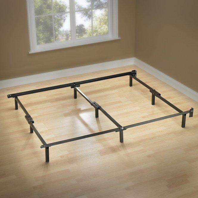 Zinus Compack 9 Leg Support Bed Frame For Box Spring Mattress Set