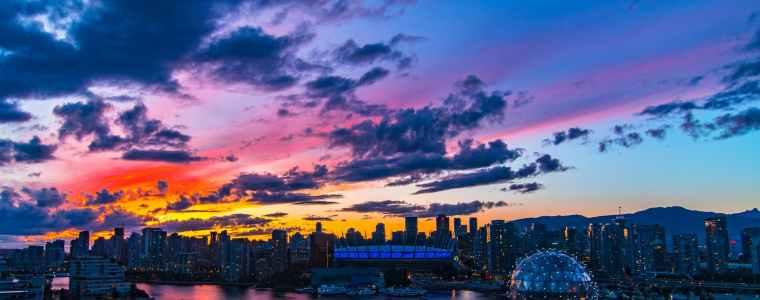 نمایی از شهر ونکوور