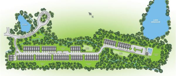 Site Plan Doraville GA Copperleaf Neighborhood