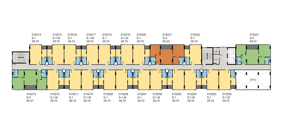 2nd Floor - Baan Peang Ploen