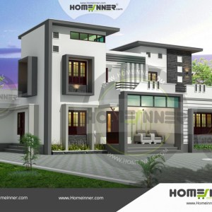 Jabalpur 24 Lakh house front elevation designs