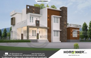 HIND-1025 House plan 3D Elevations