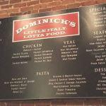 Menu At Dominick's Italian Norcross GA