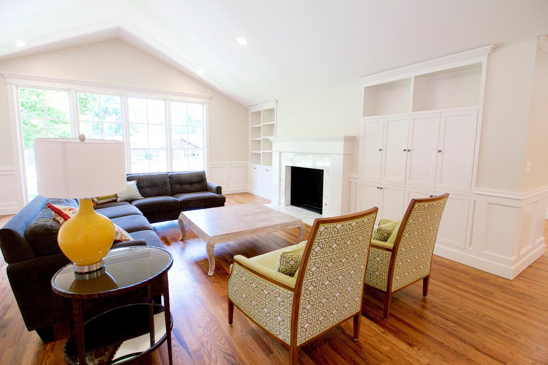 Living Room Remodel  New Living Room Designs  Tulsa