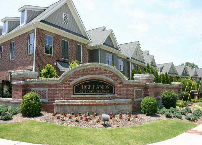 Townhomes Sandy Springs GA
