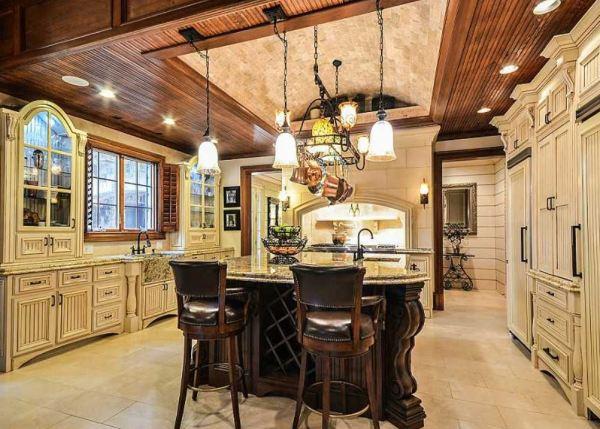 Interior Kitchen Estate Home Photo