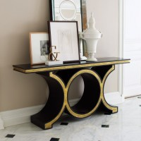 15 contemporary console tables in celebrities' living room ...