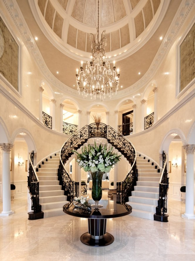 Home Decorating Ideas 2016 Luxury Chandeliers Trends Grand Double Staircase Inspiration