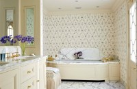 Home decorating ideas  20 heavenly rooms with wallpaper ...