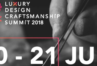 ARTS AND SPEAKERS BEHIND LUXURY DESIGN AND CRAFTSMANSHIP SUMMIT 2018