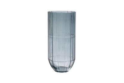Hay Colour Cut Glass Vase, by Scholten & Baijings X-Large Blue