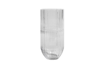 Hay Colour Cut Glass Vase, by Scholten & Baijings X-Large Transparent