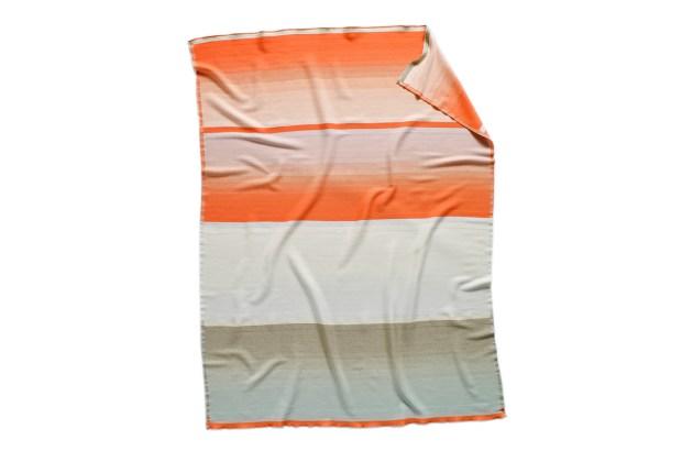 Hay Colour Plaid Woollen Blanket, by Scholten & Baijings No 9