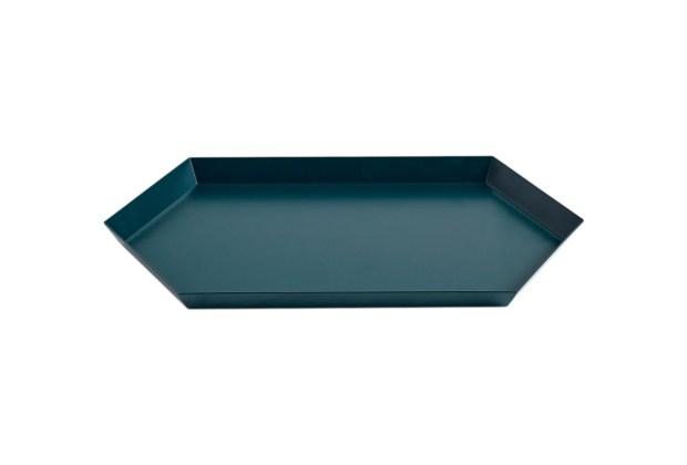 Hay Kaleido Metal Tray Medium Dark Green