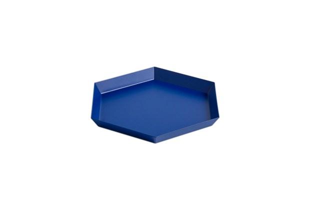 Hay Kaleido Metal Tray Small Royal Blue